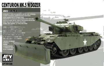 Centurion Mk V w/Dozer Blade · AF 35106 ·  AFV-Club · 1:35