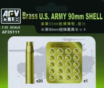 US 90 mm SHELL CASE (METAL) · AF 35111 ·  AFV-Club · 1:35