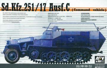 SDKFZ 251/17 COMMAND · AF 35117 ·  AFV-Club · 1:35