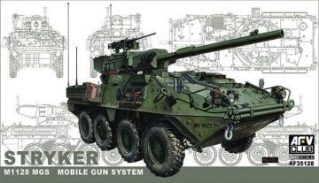 STRYKER w/105mm gun MGS · AF 35128 ·  AFV-Club · 1:35