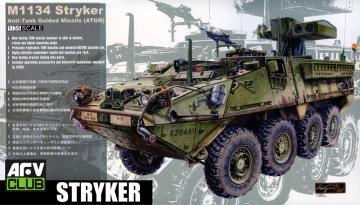 M-1134 Stryker ATGM · AF 35134 ·  AFV-Club · 1:35