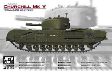 Churchill MK V tank · AF 35155 ·  AFV-Club · 1:35