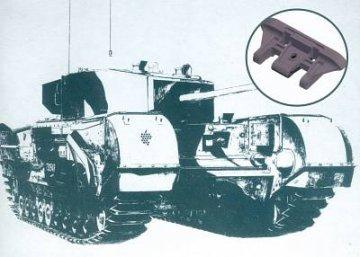 Churchill workable track · AF 35156 ·  AFV-Club · 1:35