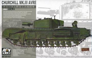 Churchill Avre · AF 35167 ·  AFV-Club · 1:35