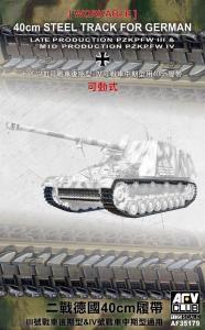 40cm Workable Tracks for tank III/IV · AF 35179 ·  AFV-Club · 1:35