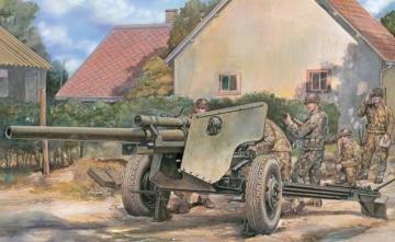 U.S. 3 inch Gun M5 on Carriage M6 · AF 35181 ·  AFV-Club · 1:35