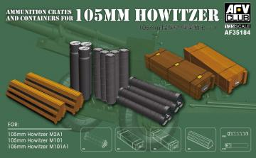 Ammunition crates and containers · AF 35184 ·  AFV-Club · 1:35