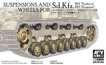 Wheels & suspensions for Panzer IV · AF 35194 ·  AFV-Club · 1:35