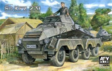 Sd. Kfz. 231 early type · AF 35231 ·  AFV-Club · 1:35