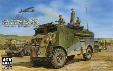 AEC Armoured Commander Car of Rommel-Mam Mammoth (DAK) · AF 35235 ·  AFV-Club · 1:35