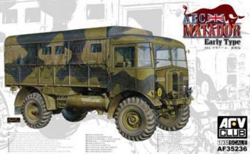 AEC Truck Early type · AF 35236 ·  AFV-Club · 1:35