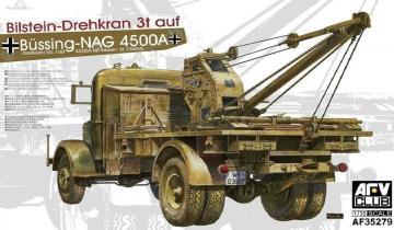 Büssing-NAG 4500A Bilstein-Drehkran 3t a · AF 35279 ·  AFV-Club · 1:35