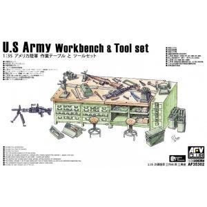 U.S. Army Workbench & Tool Set · AF 35302 ·  AFV-Club · 1:35