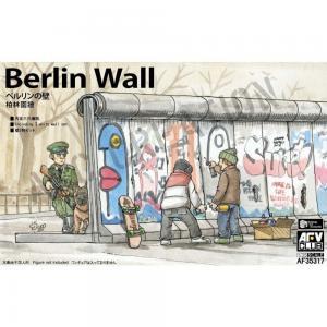 Berlin Wall - 3 units wall set · AF 35317 ·  AFV-Club · 1:35