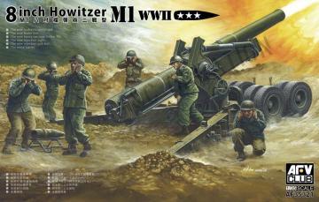 8 inch Howitzer M1 WWII · AF 35321 ·  AFV-Club · 1:35