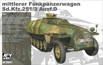 Sd.Kfz. 251/3 Ausf.D mittlerer Funkpanzerwagen · AF 35S47 ·  AFV-Club · 1:35