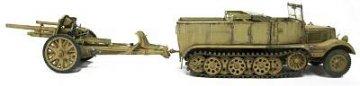 SDKFZ 11+10.5cm LeFH18 Howitzer Limited Edition! · AF 35S48 ·  AFV-Club · 1:35