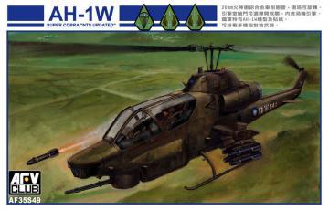 AH-1W Super Cobra NTS UPDATE R.O.C · AF 35S49 ·  AFV-Club · 1:35