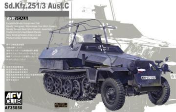 Sdkfz 251/3 Ausf C (limited serie) · AF 35S50 ·  AFV-Club · 1:35