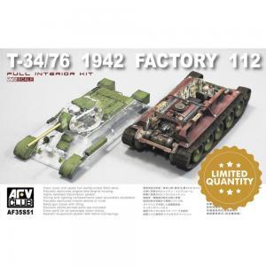 T-34/76 1942 Factory 112 ´clear edition´ · AF 35S51 ·  AFV-Club · 1:35