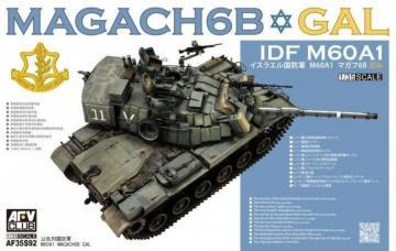 Magach 6B GAL · AF 35S92 ·  AFV-Club · 1:35