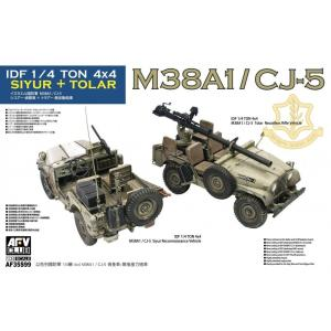 IDF 1/4 Ton 4x4 SIYUR and TOLAR M38A1/CJ-5 · AF 35S99 ·  AFV-Club · 1:35