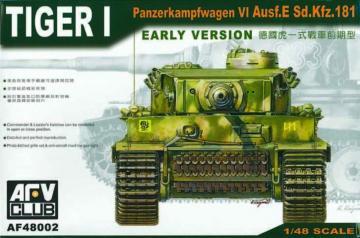 Tiger I Early Version · AF 48002 ·  AFV-Club · 1:48