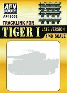 TRACK LINK TIGER I LATE · AF 48003 ·  AFV-Club · 1:48