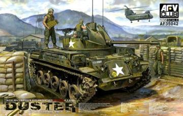 M42A1 Self Propelled Anti-Aircraft Gun · AF AF35042 ·  AFV-Club · 1:35