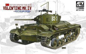 Valentine Mk. IV · AF AF35199 ·  AFV-Club · 1:35