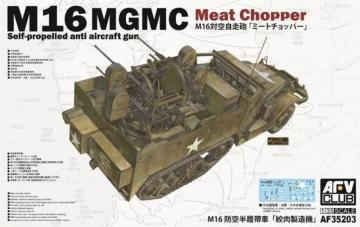 M16 Multiple Gun Motor Carriage · AF AF35203 ·  AFV-Club · 1:35