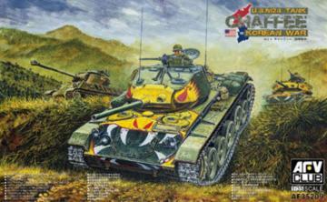 M24 Chafee tank Korea war vision · AF AF35209 ·  AFV-Club · 1:35