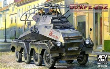 SD.KFZ.232 Schwere Panzerspähwagen 8 Rad · AF AF35232 ·  AFV-Club · 1:35