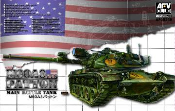 M60A3 TTS Patton Main Battle Tank · AF AF35249 ·  AFV-Club · 1:35