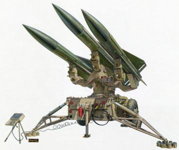 U.A.MIM-23 HAWK (Homing All the way killer) · AF AF35283 ·  AFV-Club · 1:35