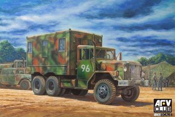 M109A3 VAN SHOP (Van body with internal structure) · AF AF35304 ·  AFV-Club · 1:35