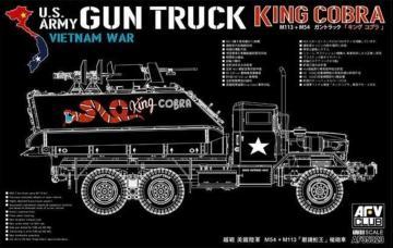 M113 + M54A2 - Gun Truck · AF AF35323 ·  AFV-Club · 1:35