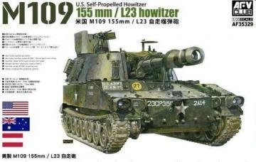 M109 155mm / L23 Howitzer · AF AF35329 ·  AFV-Club · 1:35