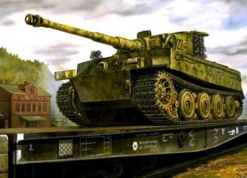 Tiger I Panzerkampfwagen VI E Sd.Kfz.181 · AF AF35S25 ·  AFV-Club · 1:35