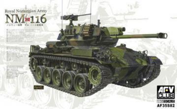 NM 116 Royal Norwegian Army · AF AF35S82 ·  AFV-Club · 1:35