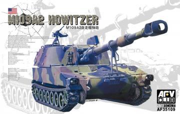 M109A2 Howitzer (M1A1 Collimator) · AF AFV35109 ·  AFV-Club