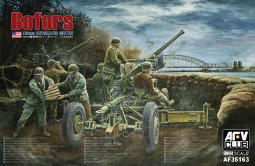 Bofors 40mm AA Gun · AF AFV35163 ·  AFV-Club · 1:35
