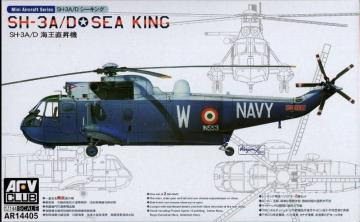 SH-3A SEA KING (2 kits per box) · AF AR14405 ·  AFV-Club · 1:144
