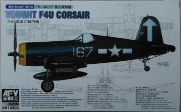 F4U-1/1A/1C/1D (2 kits per box) · AF AR14406 ·  AFV-Club · 1:144