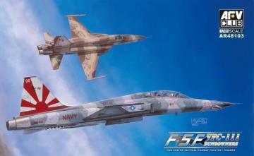 F-5F Tiger II Shark Nose · AF AR48103 ·  AFV-Club · 1:48