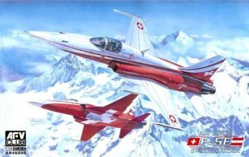 F5-E Swiss-Austria air force · AF AR48S06 ·  AFV-Club · 1:48
