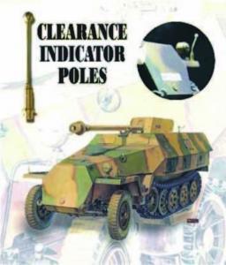 CLEARANCE POLES SDKFZ (6 PCS) · AF C35002 ·  AFV-Club · 1:35