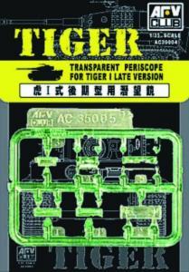 BLOC VISION / EPISCOPE TIGER I · AF C35004 ·  AFV-Club · 1:35