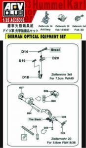 GERMAN OPTICAL SET · AF C35006 ·  AFV-Club · 1:35