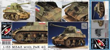 M3A3 with Pak 40 (Yugoslav) · AF DH96001 ·  AFV-Club · 1:35